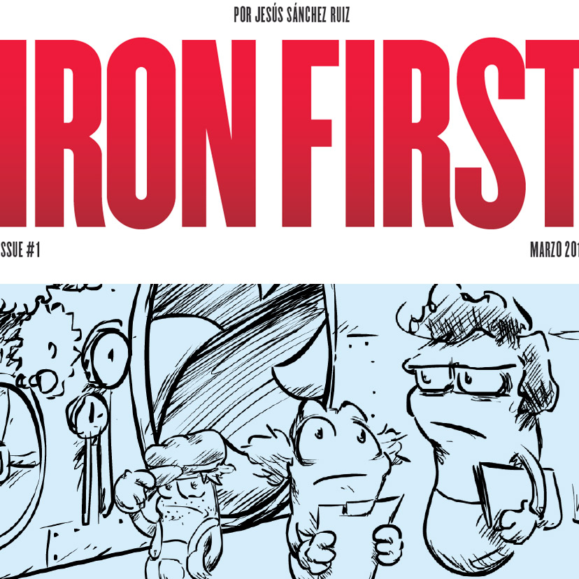 Iron First, Cómic metabolismo hierro