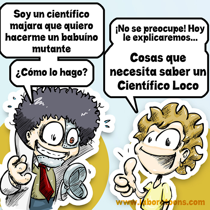 científico loco, disciplinas científicas 7