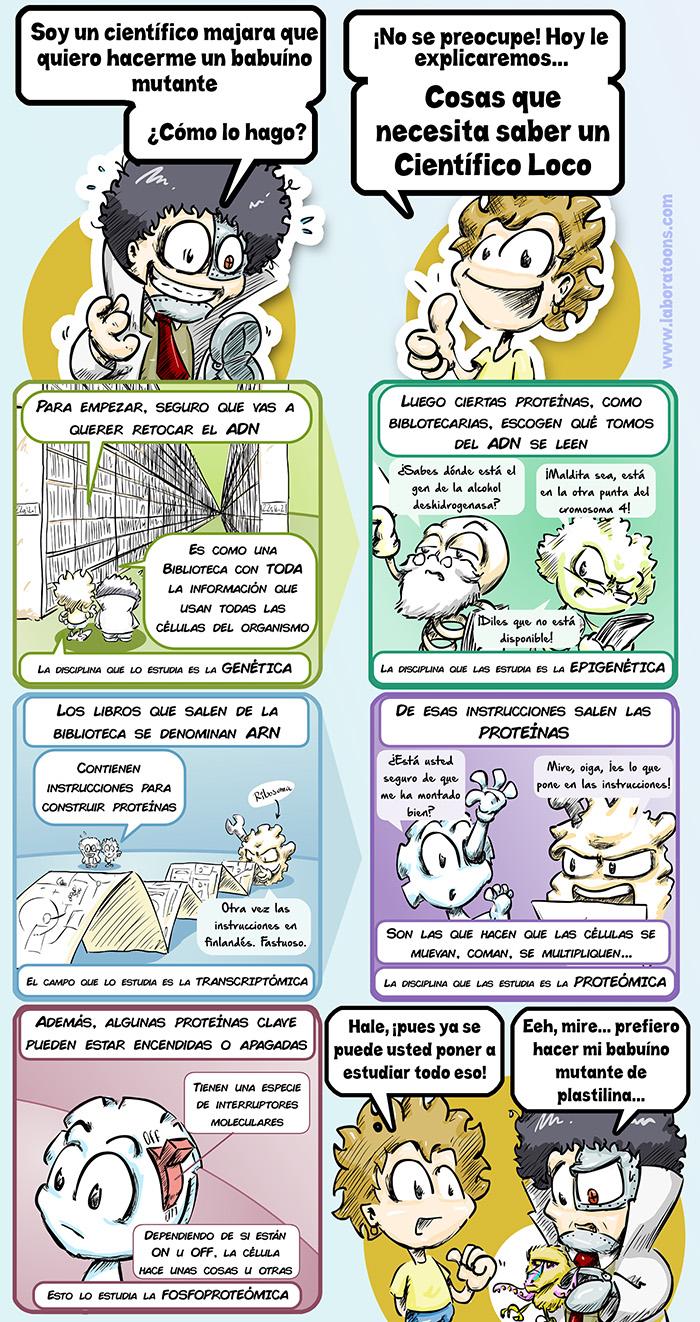 5 cosas que necesita saber un científico loco