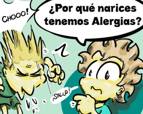 Por qué tenemos alergias?