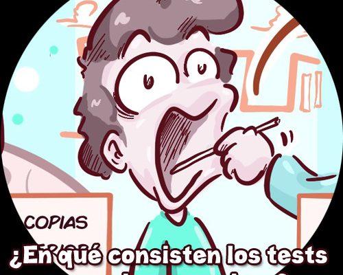 Test Coronavirus pcr anticuerpos